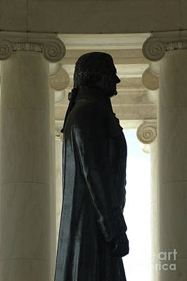 Photograph - Thomas Jefferson Statue by Larry Johnston