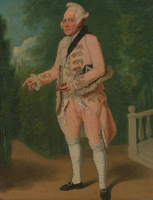 Thomas King In The Clandestine Marriage By George Colman And David Garrick Art Print by Samuel de Wilde