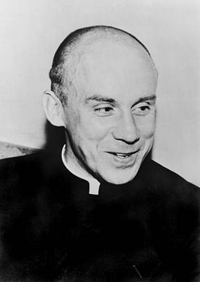2008-2 Photograph - Thomas Merton 1915-1968, French by Everett