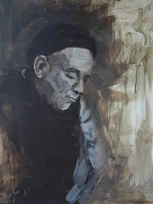 Thomas Merton Painting - Thomas Merton by Mary Haas