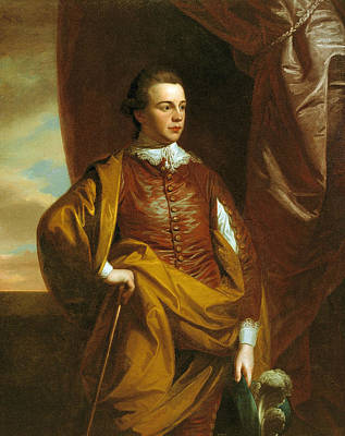 Middleton Painting - Thomas Middleton Of The Oaks by Benjamin West