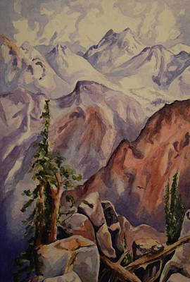 Painting - Thomas Moran Sierra Nevadas by Emily Maynard