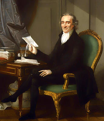 Deck-chairs Painting - Thomas Paine by Mountain Dreams