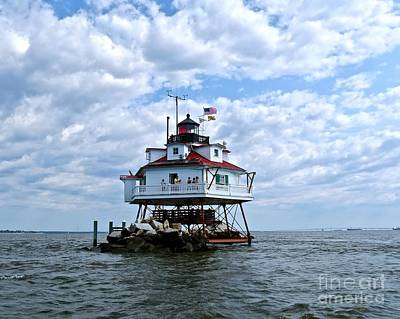 Photograph - Thomas Point Lighthouse by Nancy Patterson