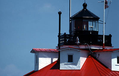 Beautiful Lighthouses Photograph - Thomas Point Shoal Ligthhouse In Md by Skip Willits