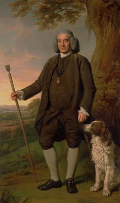 Nathaniel Painting - Thomas Sense Browne by Nathaniel Dance