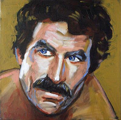 Television Painting - Thomas Sullivan Magnum Iv by Buffalo Bonker