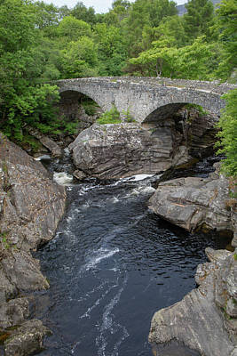 Photograph - Thomas Telford Bridge Vertical  by Teresa Wilson