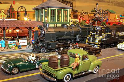 Ns Photograph - Thomas Train Art by Reid Callaway