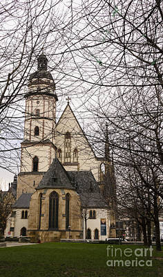 Photograph - Thomaskirche by Elvis Vaughn