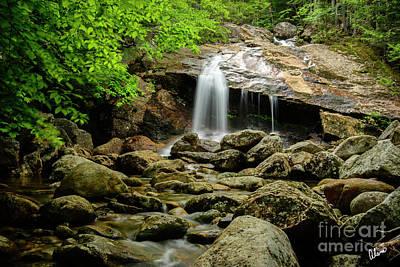 Photograph - Thompson Falls, New Hampshire by Alana Ranney