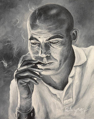 Hunter S. Thompson Painting - Thompson For Sheriff by Daniel Bergren
