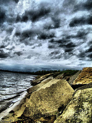 Photograph - Thompson Lake Howell  Mi by September  Stone