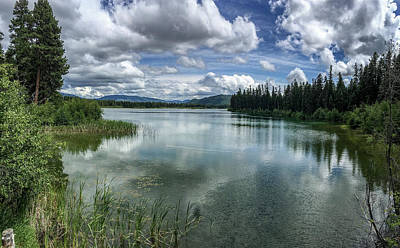 Photograph - Thompson Lake In The Summer by Teresa Wilson