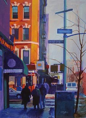Thompson Street Art Print by John Tartaglione