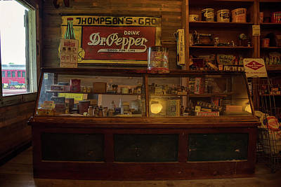 North Carolina Photograph - Thompson's Grocery by Cindi Poole