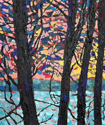 Thomson Trees Art Print