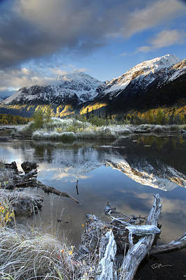 Alaska Mountains Photograph - Thoreau by Ed Boudreau