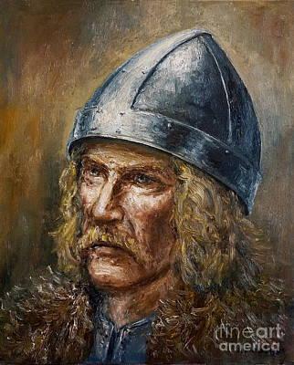 Painting - Thorfinn Karlsefni by Arturas Slapsys