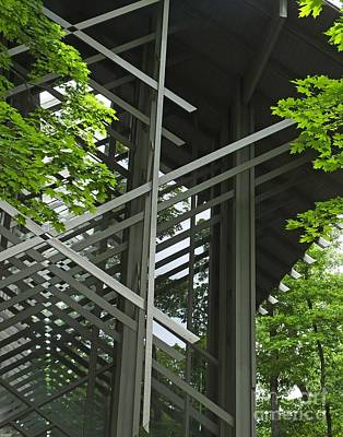 Photograph - Thorncrown Chapel Eureka Springs Ar Entry by Lizi Beard-Ward