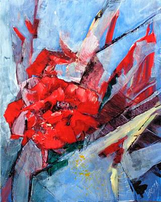 Wall Art - Painting - Thorns And Roses, Trilogy by Larissa Pirogovski