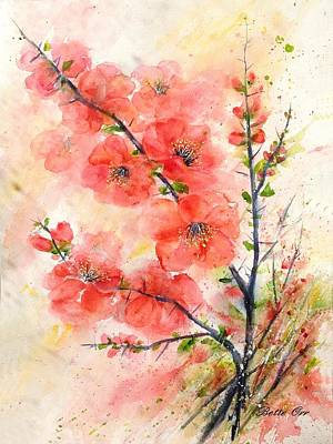 Painting - Thorny Quince by Bette Orr