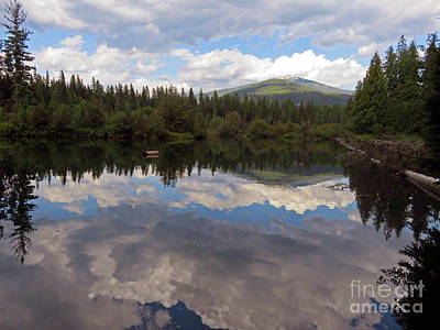 Photograph - Thorofare Priest Lake To Upper Priest Lake by Cindy Murphy - NightVisions