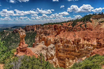 Photograph - Thors Hammer Bryce Canyon Utah 7r2_dsc1054_08102017 by Greg Kluempers