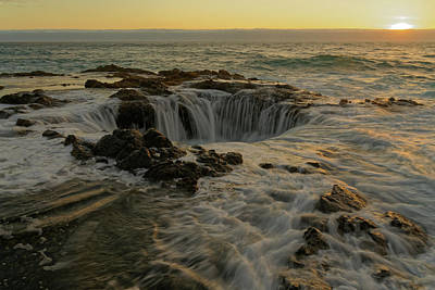 Photograph - Thor's Well by Jonathan Davison