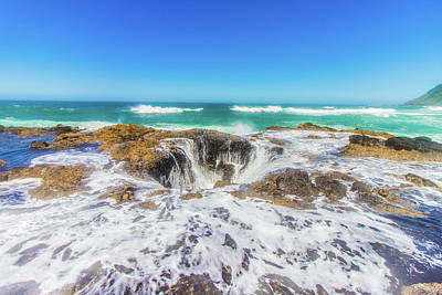 Photograph - Thor's Well by Jonny D