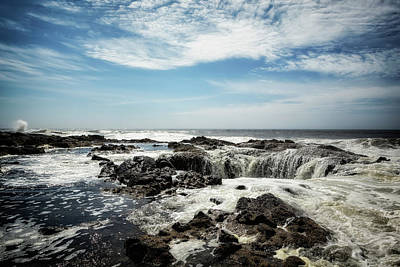 Photograph - Thor's Well, No. 1 by Belinda Greb