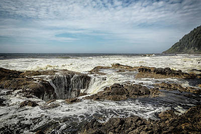 Photograph - Thor's Well, No. 2 by Belinda Greb
