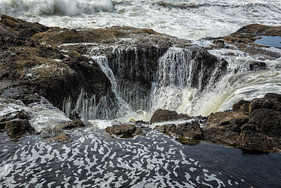 Photograph - Thor's Well, No. 3 by Belinda Greb