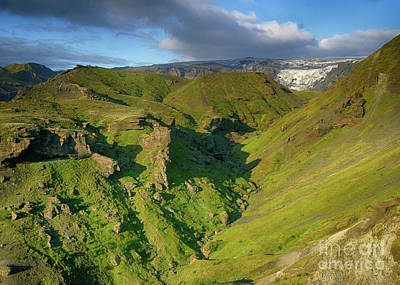 Photograph - Thorsmork Iceland 1 by Rudi Prott