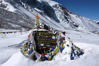 Photograph - Thorong La Pass, Annapurna Circuit, Nepal by Aidan Moran