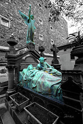 Cemeteries Of Paris Photograph - Those Darn Neighbors by Frederic A Reinecke