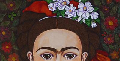 Those Eyebrows Art Print by Madalena Lobao-Tello