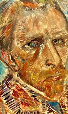 Painting - In His Eyes by Belinda Low