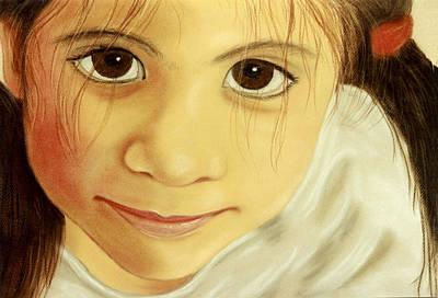 Pastel - Those Eyes by Jan Amiss