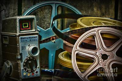 8mm Photograph - Those Old Movies by Paul Ward