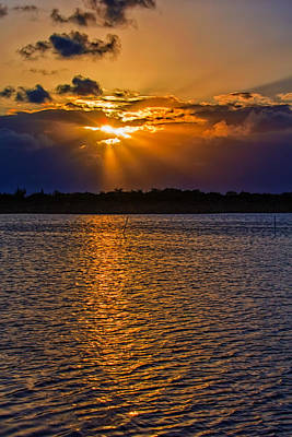 Florida Photograph - Those Sunsets In The Keys by John M Bailey