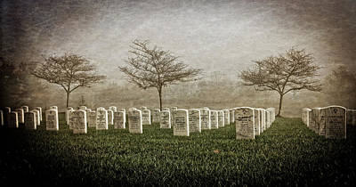 National Cemetery Digital Art - Those Who Gave by Anita Hubbard