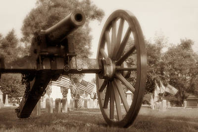 Artillery Photograph - Those Who Served by Tom Mc Nemar