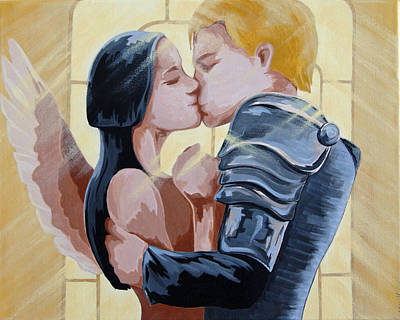 Thou Romeo Print by Juliet Magill