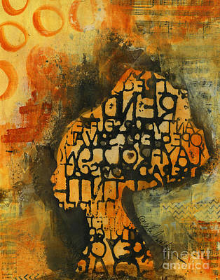 Mixed Media - Thought Full by Angela L Walker