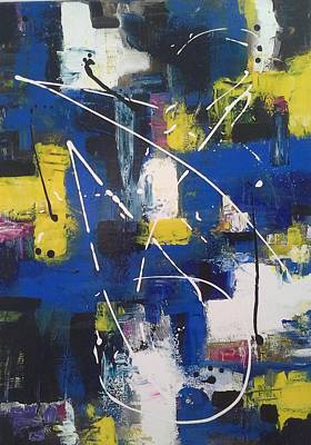 Painting - Thought Inspiration by Joy Fahey