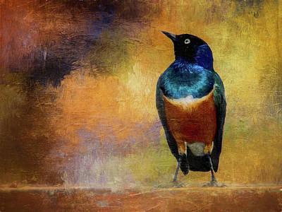 Digital Art - Thoughtful Bird by Thomas Leparskas