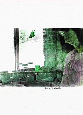 Photograph - Thoughtful by Lenore Senior