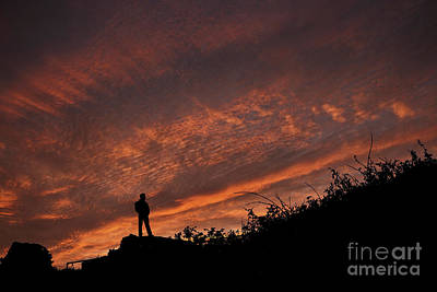 Photograph - Thoughtful Sunrise by Steve Purnell