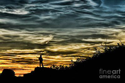 Photograph - Thoughtful Sunset by Steve Purnell